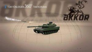 ASELSAN AKKOR Tank Koruma Sistemi Nedir ?