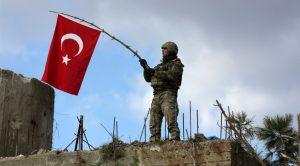 zeytin dalina turkiye bayragi takmis asker