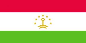 tacikistan bayragi