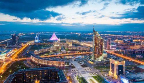 Kazakistan'ın başkenti Nur Sultan