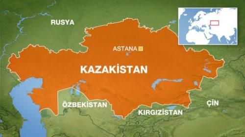 Kazakistan'ın yüz çlçümü